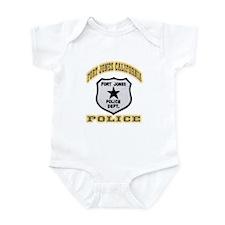 Fort Jones California Police Infant Bodysuit
