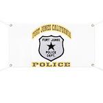 Fort Jones California Police Banner