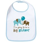 Big Brother to be - Elephant Bib