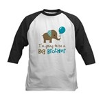 Big Brother to be - Elephant Kids Baseball Jersey