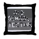 Cute Morse code Throw Pillow