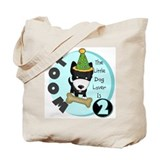 Dog Lover 2nd Birthday Tote Bag