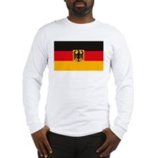 German Flag Long Sleeve T-Shirt