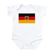 German Flag Infant Creeper
