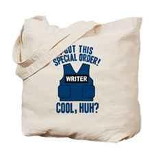 Castle Writer Vest Quote Tote Bag