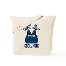 Castle Writer Vest Quote Tote Bag