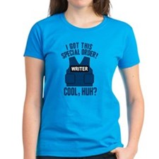 Castle Writer Vest Quote Women's Dark T-Shirt
