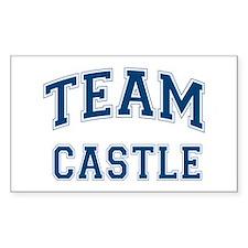 Team Castle Sticker (Rectangle)