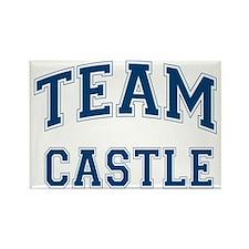 Team Castle Rectangle Magnet
