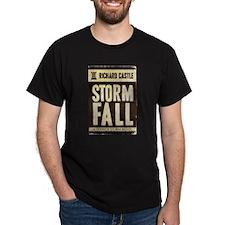 Retro Castle Storm Fall T-Shirt