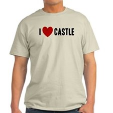 I Love Castle Light T-Shirt