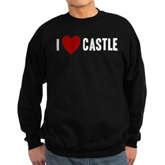 I Love Castle Sweatshirt (dark)