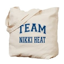 Team Nikki Heat Tote Bag