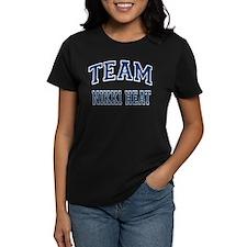 Team Nikki Heat Women's Dark T-Shirt
