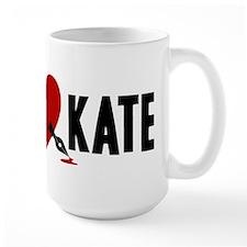 Castle Rick Heart Kate Large Mug
