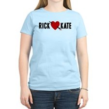 Castle Rick Heart Kate Women's Light T-Shirt