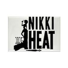 Castle Nikki Heat Rectangle Magnet