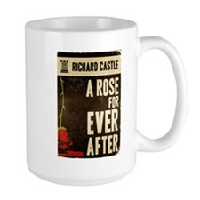 Retro Castle Rose For Everafter Large Mug