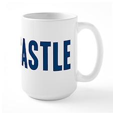I Love/Vest Castle Large Mug