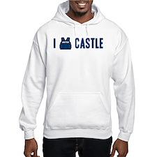 I Love/Vest Castle Hooded Sweatshirt