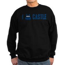I Love/Vest Castle Sweatshirt (dark)