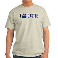 I Love/Vest Castle Light T-Shirt