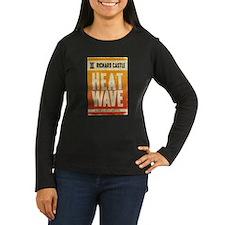 Castle Heat Wave Retro Women's Long Sleeve Dark T-