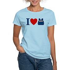 Castle I Heart Writer Vest Women's Light T-Shirt