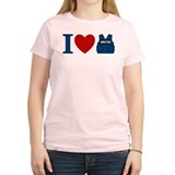 Castle I Heart Writer Vest T-Shirt