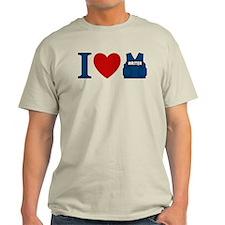 Castle I Heart Writer Vest Light T-Shirt