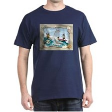 Peeper colored surf T-Shirt