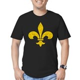 Saints Sharp Gold Leaf Fleur T