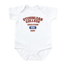 College Education Debt Infant Bodysuit