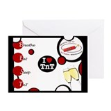 B.E.S.T I Love TnT Greeting Card