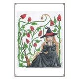 Witch's Broomstick Banner