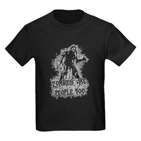 Zombies Are People Too Kids T-Shirt