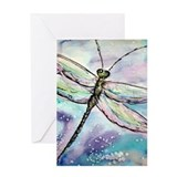 Dragonfly, Beautiful, Greeting Card