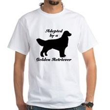 ADOPTED by Golden Retriever Shirt