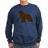 Brown Newfoundland Silhouette Sweatshirt