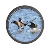 Waterfowl Wall Clock