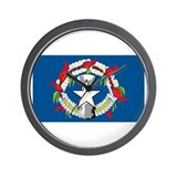 Northern Marianas Flag Wall Clock