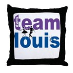 DWTS Team Louis Throw Pillow