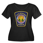 Chelmsford Police Women's Plus Size Scoop Neck Dar