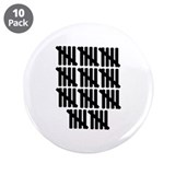"55th birthday 3.5"" Button (10 pack)"