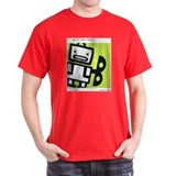 Ensemble Robot Logo (black) Black T-Shirt