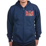 Cute Kate middleton Zip Hoodie