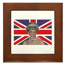 Cute Royal wedding Framed Tile