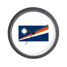 Marshall Islands Flags Wall Clock
