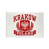 Krakow Poland Rectangle Magnet