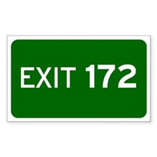 EXIT 172 Decal